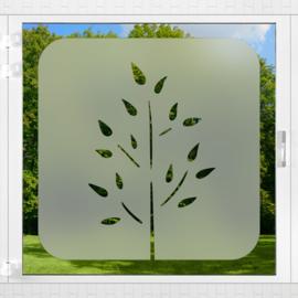 Raamfolie tegel • Botanisch • 2