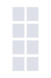 raamfolies op maat • 8 stuks