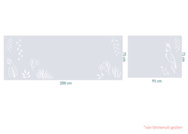raamfolie op maat • Kakatoe  • 2 stuks