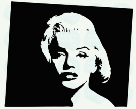 auto sticker • Marilyn Monroe