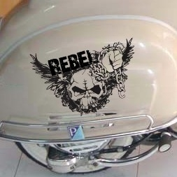 scooter stickers • rebel