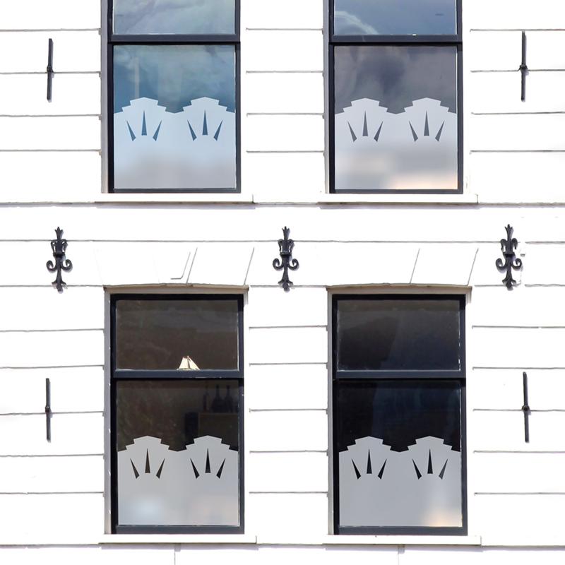 statische raamfolie  •  Art Deco