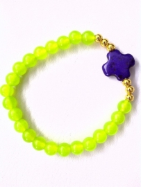 Yellow Jade Purple Cross