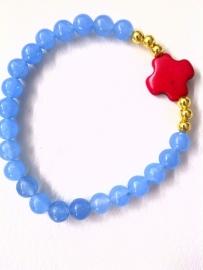 Blue Jade Red Cross