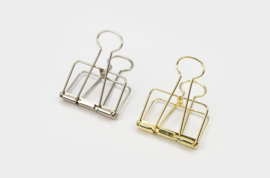 Tools to Liveby No.51 Binder Clips - SILVER