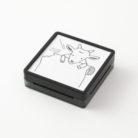 Midori Paintable Stamp - Goat