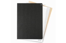 Galen Leather Everyday Notebook Blank - Tomoe River Paper - A5 Size - 400 Pages
