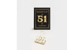 Tools to Liveby No.51 Binder Clips - GOLD