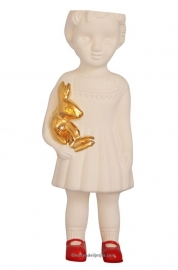 Lammers en Lammers Ceramic Doll Open Mind  White