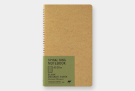 TRC SPIRAL RING NOTEBOOK Kraft Paper A5 slim