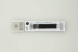 Stalogy 028 Water-Based Gel Ink Ball Point Pen Refill, 3 pcs