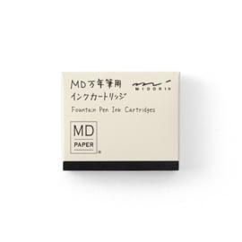 Midori Cardridge voor MD Vulpen - Black