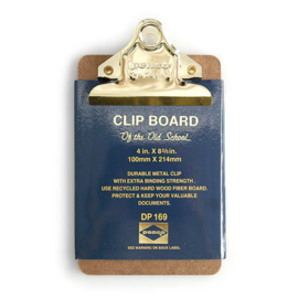Penco Clipboard Mini Gold