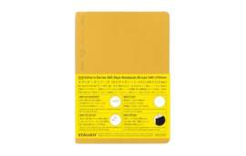 Stalogy 1/2 Year Notebook - Yellow A6 of A5