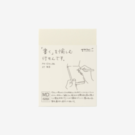 Midori MD Paper A7 Sticky Notes Blank