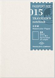 TRAVELER`S Notebook PP - Refill 015 Watercolor Paper