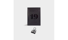 Tools to Liveby No.19 Binder Clips - BLACK