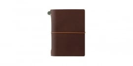 TRAVELER`S Notebook - PP Size Brown
