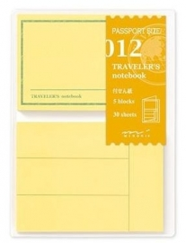 TRAVELER`S Notebook PP - Refill 012 : Sticky Notes