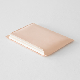 Midori MD Goat Leather Cover - A5 horizontal
