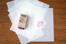 Plain Stationery - Handy Stamp - G