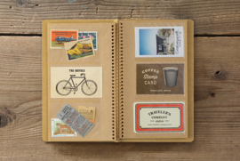 TRC SPIRAL RING NOTEBOOK Card And Photo File A5 slim