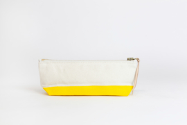 The Superior Labor - Cotton Canvas Pouch Shallow - Yellow