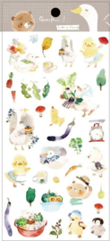 Liang Feng Watercolor Stickers - Duck