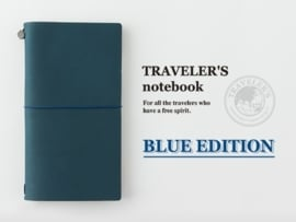 TRAVELER'S Notebook Blue