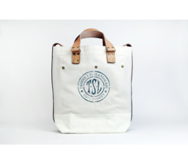 The Superior Labor - Cotton Canvas 2way Bag White