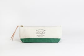 The Superior Labor - Cotton Canvas Pouch Shallow - Green