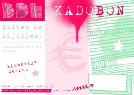 Kadobon Digitaal Kies zelf de waarde vanaf €10.00