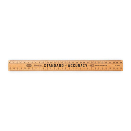 Penco wooden ruler