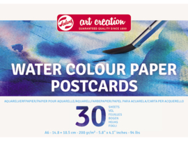 Talens Aquarel papier Postcards