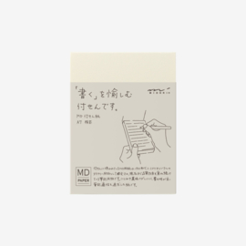 Midori MD Paper A7 Sticky Notes Lines
