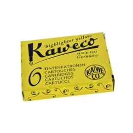 Kaweco Ink Cardridge Yellow