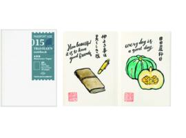 TRAVELER`S Notebook PP - Refill 015 Watercolor Paper