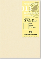 TRAVELER`S Notebook PP - Refill 013 Cream