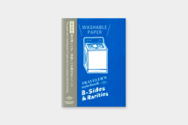 LTD TRAVELER'S Notebook Passport Size Refill Washable Paper