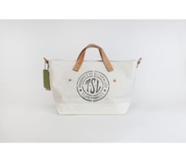 The Superior Labor - Cotton Canvas Engineer Tote Bag XS White