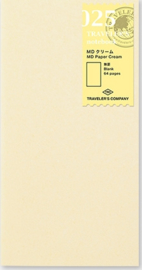 TRAVELER`S Notebook - Refill 025 Cream paper
