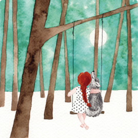 IsaBella Illustrations Postkaart Lizzy 21