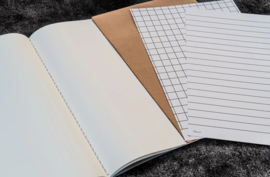 Galen Leather  - TomoeRiver Paper Traveler's Notebook Refill - Set of 3 - Regular Size