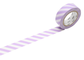 MT Masking Tape STRIPE LILAC 2