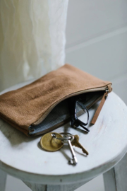 The Dharma Door Pouch Camel - S