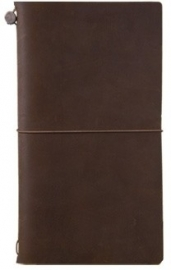 TRAVELER`S Notebook Brown