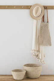 The Dharma Door Jute String Bag - Natural