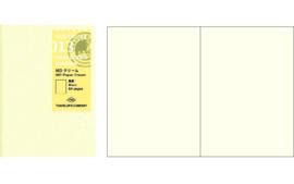 TRAVELER`S Notebook PP - Refill 013 Cream