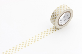MT Masking Tape dot Gold
