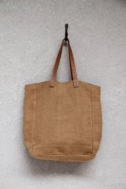 The Dharma Door Jute Canvas Tote